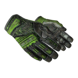 ★ Specialist Gloves | Emerald Web (Battle-Scarred)