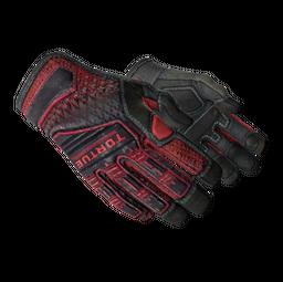★ Specialist Gloves | Crimson Kimono (Field-Tested)