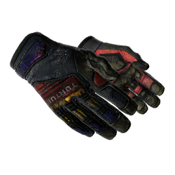 ★ Specialist Gloves | Marble Fade (Battle-Scarred)