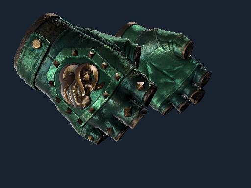 ★ Broken Fang Gloves   Jade (Well-Worn)