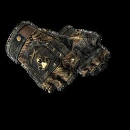 ★ Bloodhound Gloves | Snakebite (Battle-Scarred)