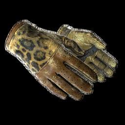 ★ Driver Gloves | Queen Jaguar (Battle-Scarred)