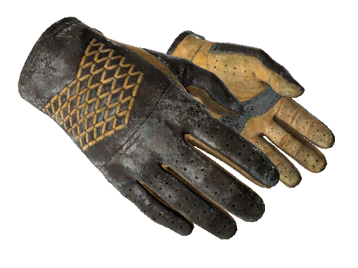 ★ Driver Gloves   Overtake (Battle-Scarred)