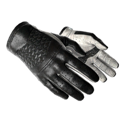 ★ Driver Gloves | Black Tie (Minimal Wear)