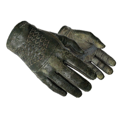 ★ Driver Gloves   Racing Green (Battle-Scarred)