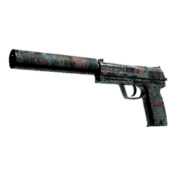 USP-S | Ancient Visions (Well-Worn)