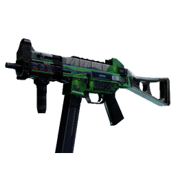 StatTrak™ UMP-45 | Plastique (Well-Worn)