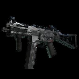 StatTrak™ UMP-45 | Arctic Wolf (Battle-Scarred)