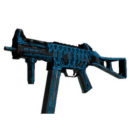 StatTrak™ UMP-45 | Exposure (Battle-Scarred)