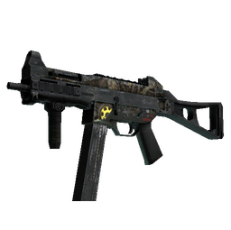 UMP-45 | Mechanism (Battle-Scarred)