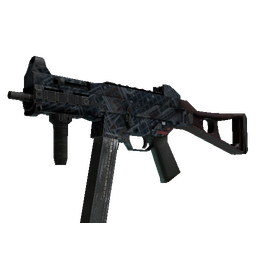 Souvenir UMP-45 | Facility Dark (Well-Worn)