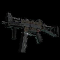 UMP-45 | Houndstooth (Battle-Scarred)