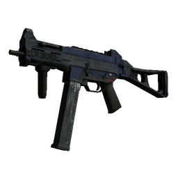 UMP-45 | Indigo (Battle-Scarred)