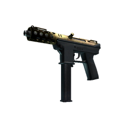 Souvenir Tec-9 | Brass (Battle-Scarred)