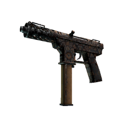 Tec-9 | Orange Murano (Battle-Scarred)