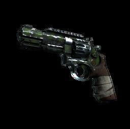 StatTrak™ R8 Revolver | Survivalist (Battle-Scarred)