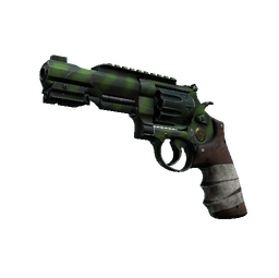 StatTrak™ R8 Revolver | Survivalist (Factory New)