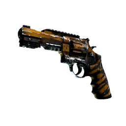 StatTrak™ R8 Revolver | Skull Crusher (Battle-Scarred)