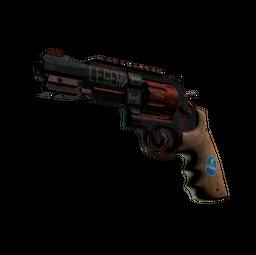 R8 Revolver   Junk Yard (Battle-Scarred)