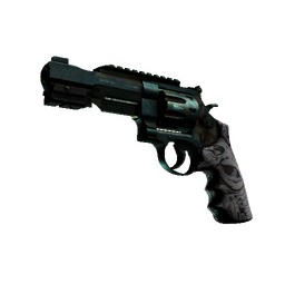 StatTrak™ R8 Revolver | Bone Forged (Battle-Scarred)
