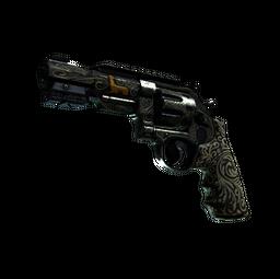 StatTrak™ R8 Revolver | Llama Cannon (Battle-Scarred)