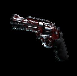 StatTrak™ R8 Revolver | Crimson Web (Battle-Scarred)