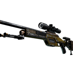 StatTrak™ SSG 08 | Big Iron (Battle-Scarred)