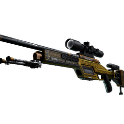StatTrak™ SSG 08 | Big Iron (Well-Worn)