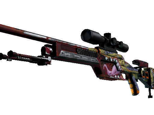 StatTrak™ SSG 08 | Bloodshot (Field-Tested)
