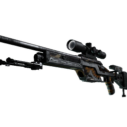 StatTrak™ SSG 08 | Death's Head (Battle-Scarred)