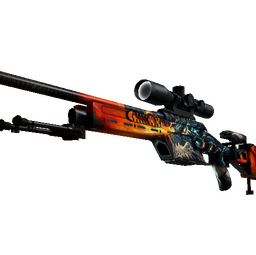 SSG 08 | Dragonfire (Factory New)