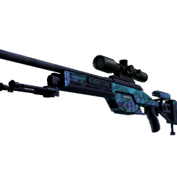StatTrak™ SSG 08 | Mainframe 001 (Battle-Scarred)