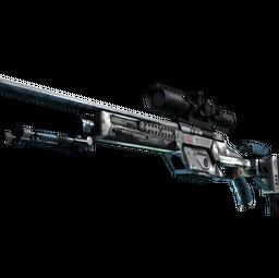 StatTrak™ SSG 08 | Ghost Crusader (Battle-Scarred)