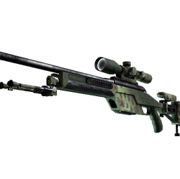 SSG 08 | Lichen Dashed (Minimal Wear)