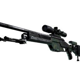 SSG 08 | Jungle Dashed (Well-Worn)