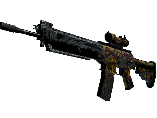 SG 553   Colony IV (Battle-Scarred)