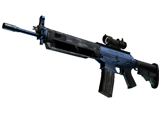 SG 553 | Anodized Navy (Factory New)