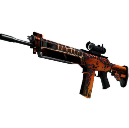 StatTrak™ SG 553 | Tiger Moth (Field-Tested)