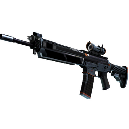 StatTrak™ SG 553 | Phantom (Well-Worn)
