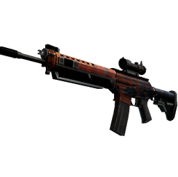 StatTrak™ SG 553 | Danger Close (Factory New)