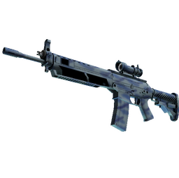 SG 553 | Wave Spray (Minimal Wear)