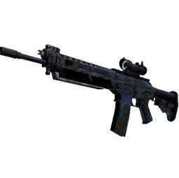 SG 553 | Aloha (Battle-Scarred)