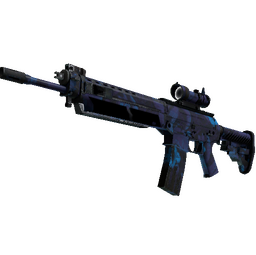 StatTrak™ SG 553 | Aloha (Field-Tested)