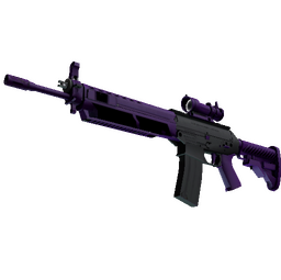 StatTrak™ SG 553 | Ultraviolet (Factory New)