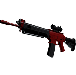 SG 553 | Candy Apple (Factory New)