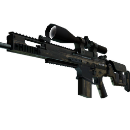 SCAR-20 | Sand Mesh (Battle-Scarred)