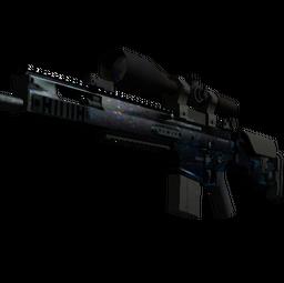 StatTrak™ SCAR-20 | Grotto (Battle-Scarred)