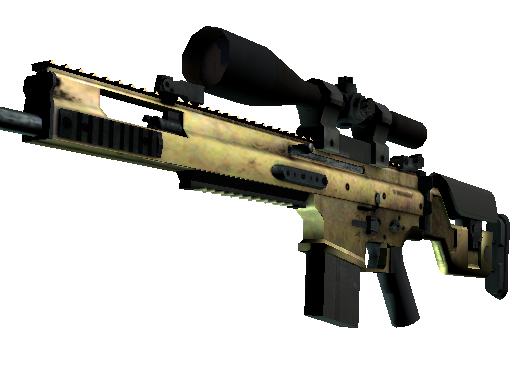 SCAR-20 | Brass (Field-Tested)