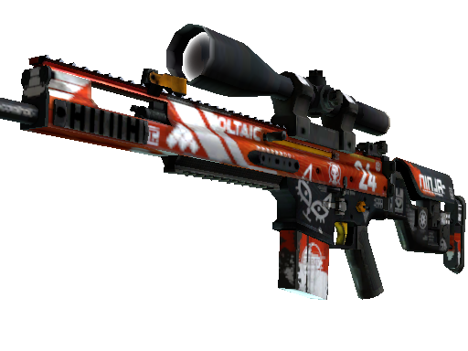 StatTrak™ SCAR-20 | Bloodsport (Field-Tested)