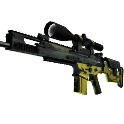 StatTrak™ SCAR-20 | Jungle Slipstream (Field-Tested)